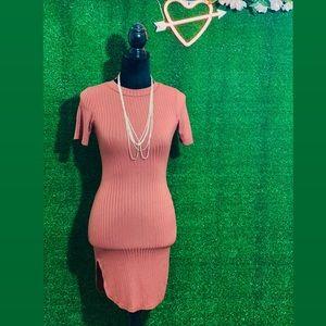 Tunic Dress w/ Side Slits